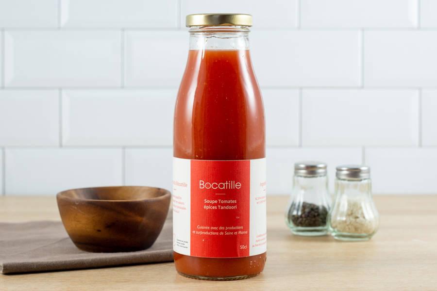 Soupe de Tomates Tandoori 50cL - Conserverie de Larnière - La Ruche qui dit Oui ! à la maison