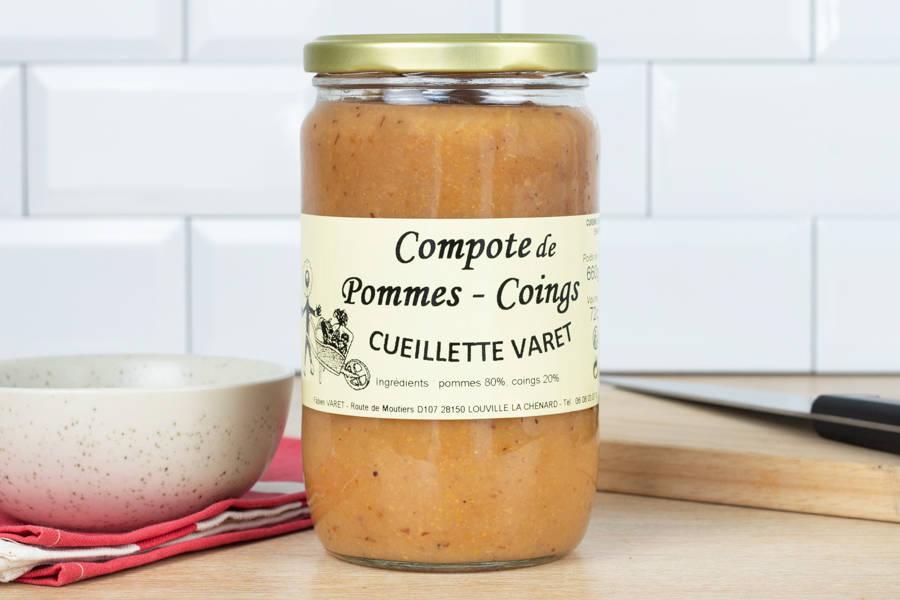 Purée de pomme-coing - Conserverie de la cueillette Varet - La Ruche qui dit Oui ! à la maison