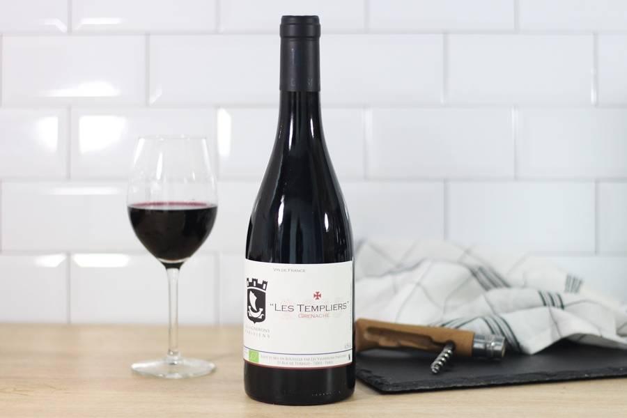 Les Templiers 2015 BIO - Vin de France - Les Vignerons Parisiens - La Ruche qui dit Oui ! à la maison