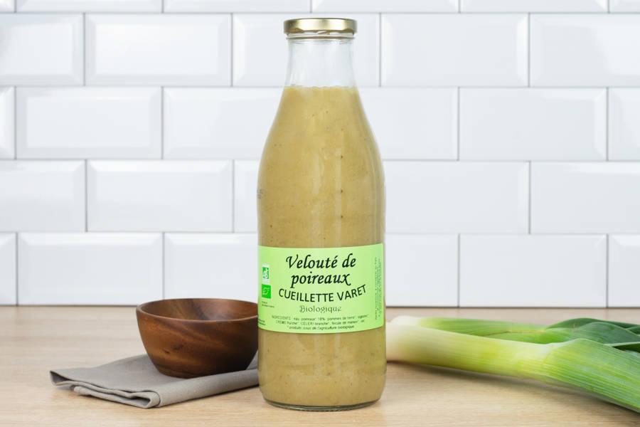 Velouté de poireaux - Conserverie de la cueillette Varet - La Ruche qui dit Oui ! à la maison