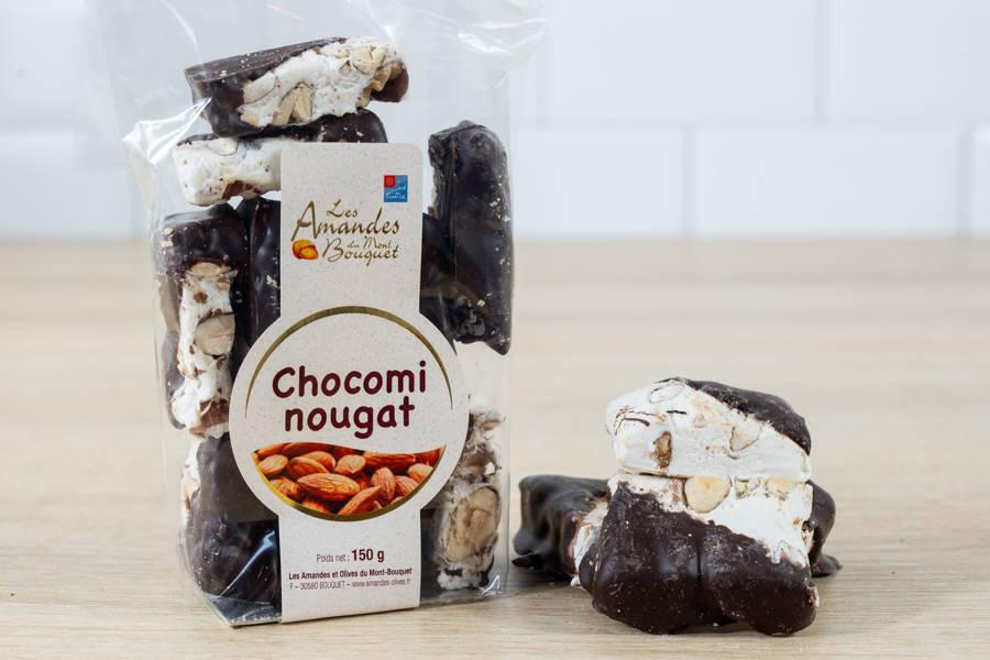 Chocomi-nougat - Les amandes du Mont Bouquet - La Ruche qui dit Oui ! à la maison