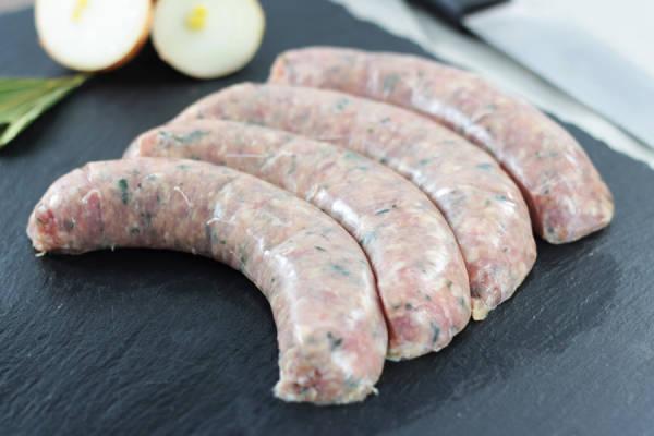 Saucisses de veau tradition - Ferme les Barres
