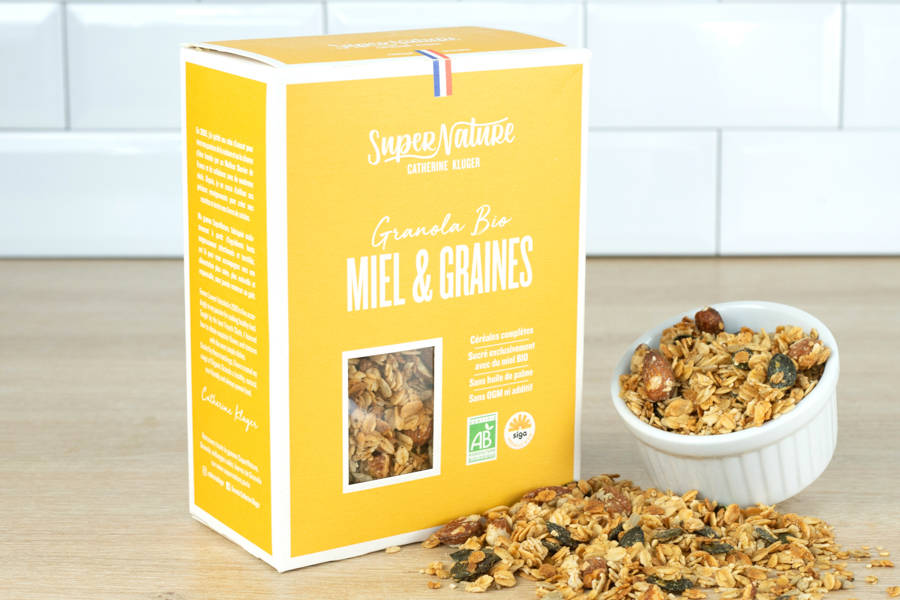 Granola Miel et Graines BIO - Catherine Kluger Granola - La Ruche qui dit Oui ! à la maison