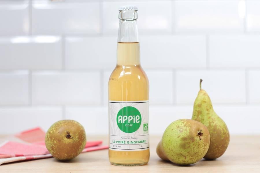Le Poiré gingembre BIO 33cl - Appie - La Ruche qui dit Oui ! à la maison