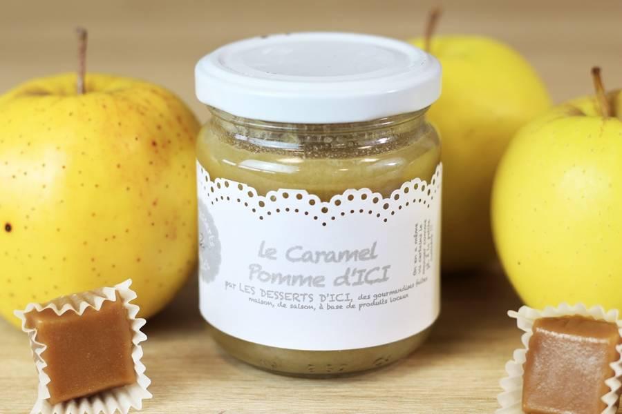 Caramel à la pomme - Les Desserts d'Ici - La Ruche qui dit Oui ! à la maison