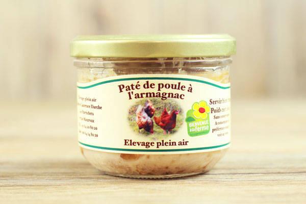 Pâté de poule à l'Armagnac - Ferme des Parrichets