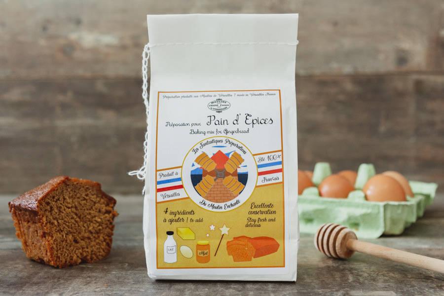 Préparation pour pain d'épices - Les Moulins de Versailles - La Ruche qui dit Oui ! à la maison
