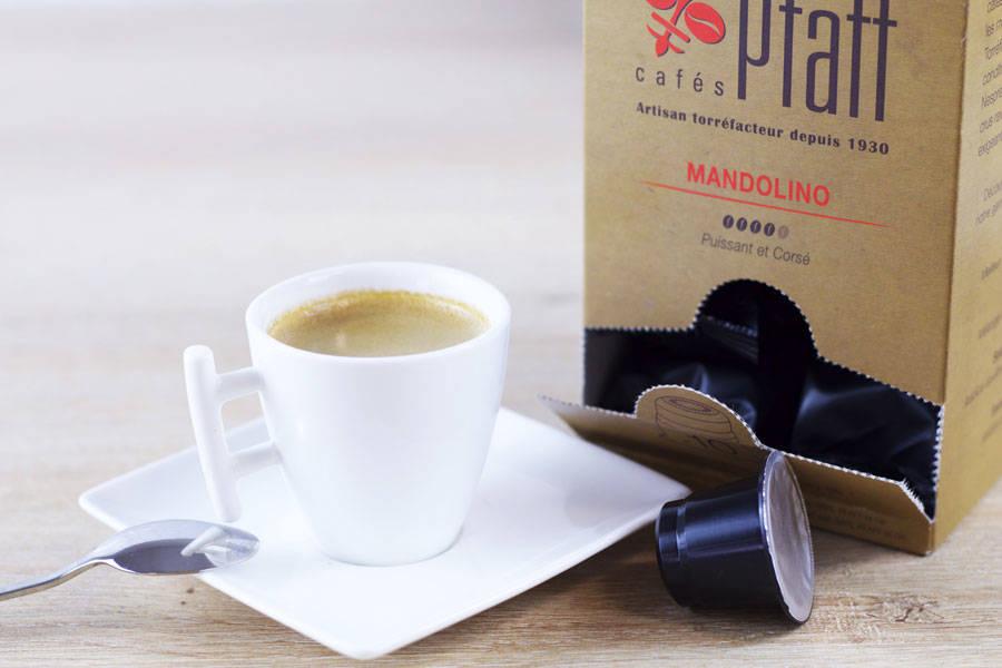 Mandolino - Capsules - Cafés Pfaff - La Ruche qui dit Oui ! à la maison