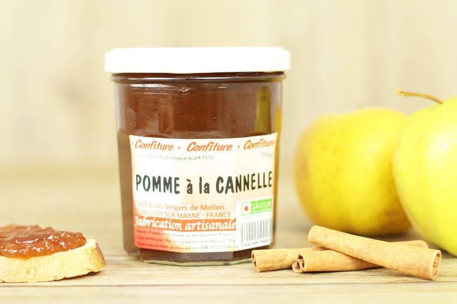 Confiture de pomme à la cannelle - Vergers de Molien - La Ruche qui dit Oui ! à la maison