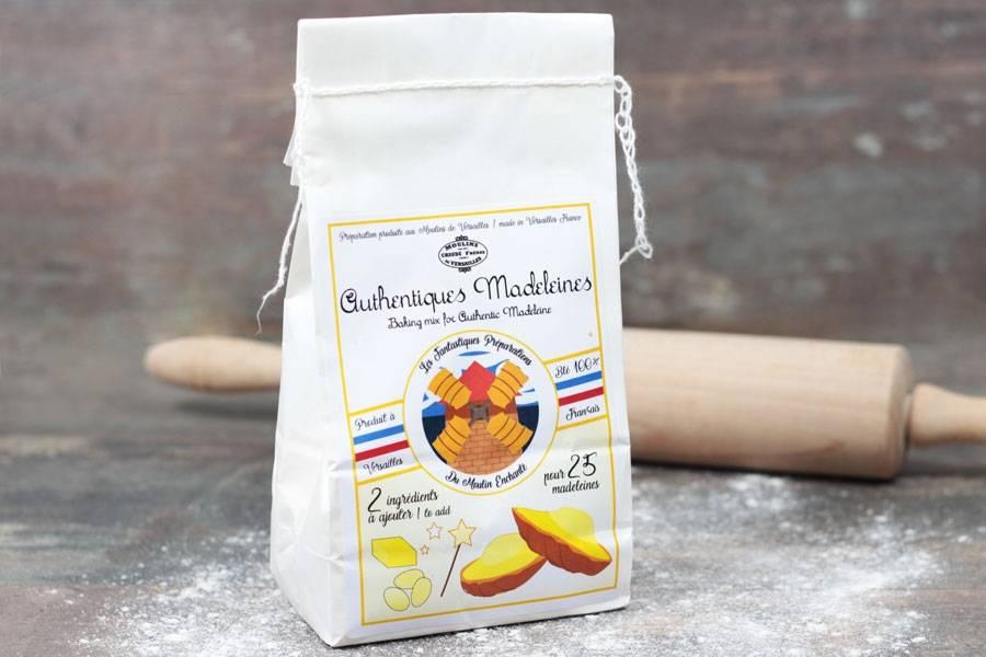 Préparation pour madeleines authentiques - Les Moulins de Versailles - La Ruche qui dit Oui ! à la maison