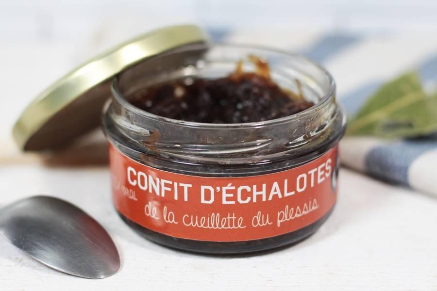 Confit d'échalotes - Cueillette du Plessis - La Ruche qui dit Oui ! à la maison
