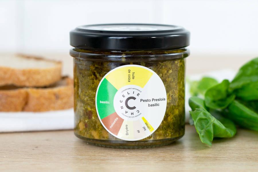 Pesto au Basilic - Chancelie - La Ruche qui dit Oui ! à la maison