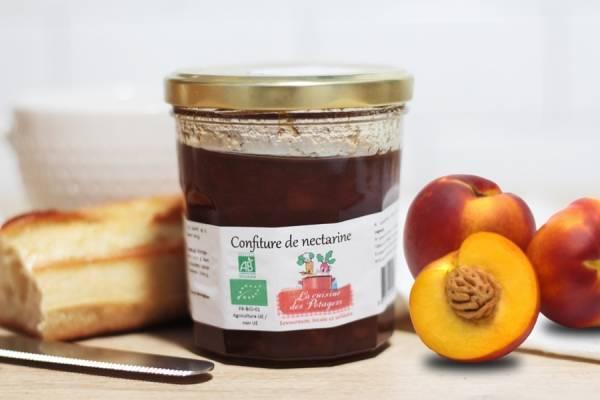 Confiture de nectarine - Conserverie coopérative de Marcoussis