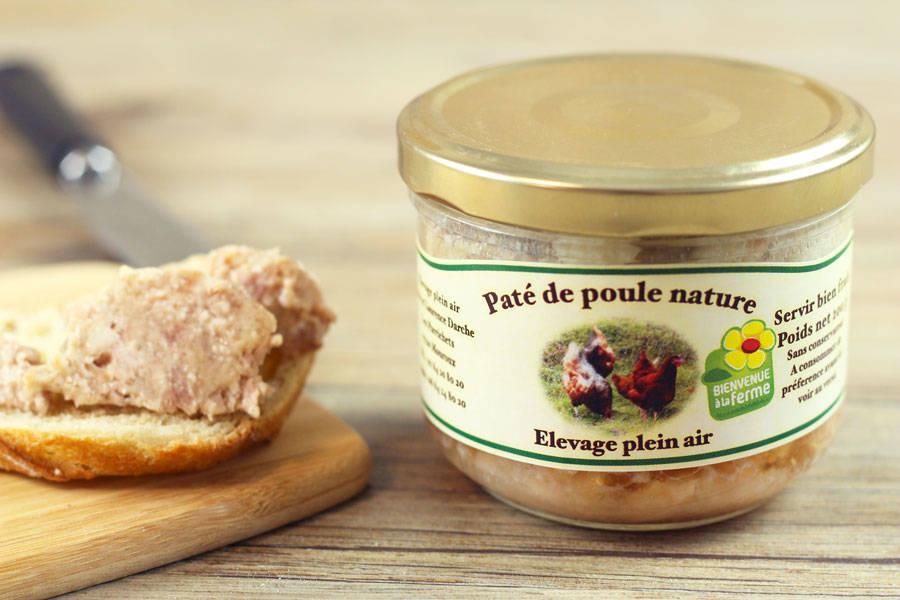 Pâté de poule nature - Ferme des Parrichets - La Ruche qui dit Oui ! à la maison