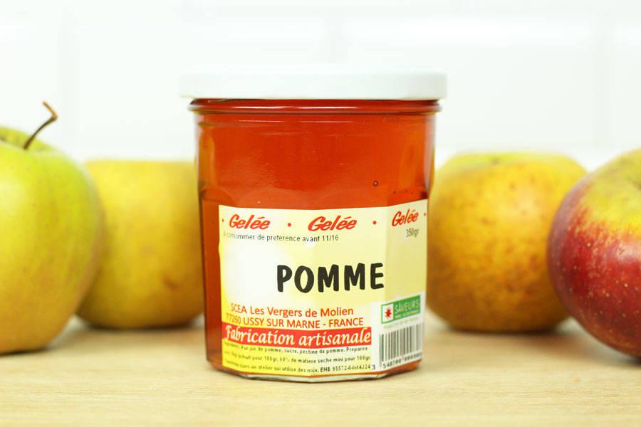 Gelée de pomme - Vergers de Molien - La Ruche qui dit Oui ! à la maison