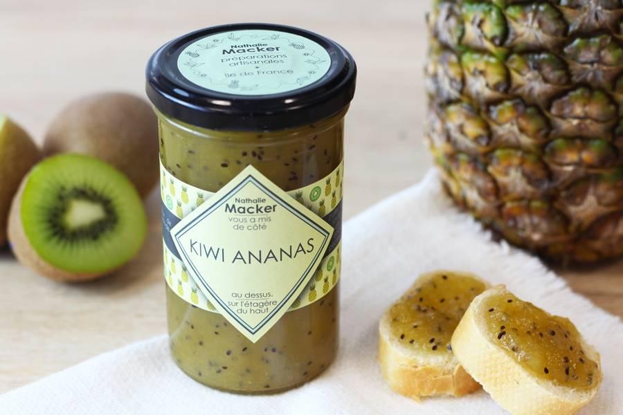 Kiwi ananas - Au dessus, sur l'étagère du haut - La Ruche qui dit Oui ! à la maison