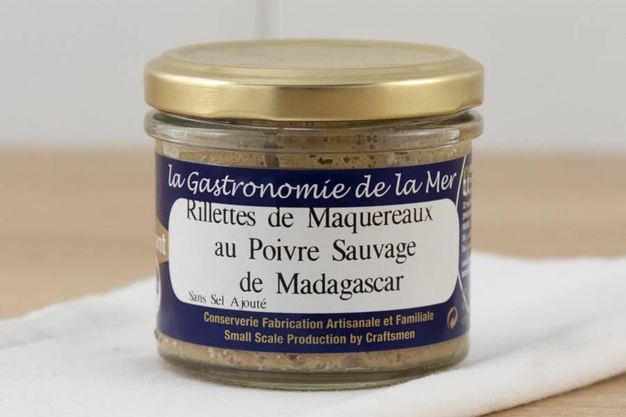 Rillettes de Maquereaux au poivre sauvage de Madagascar - Conserverie artisanale Kerbriant - La Ruche qui dit Oui ! à la maison