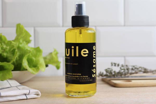 Vaporisateur huile de sésame  - Huilerie Avernoise