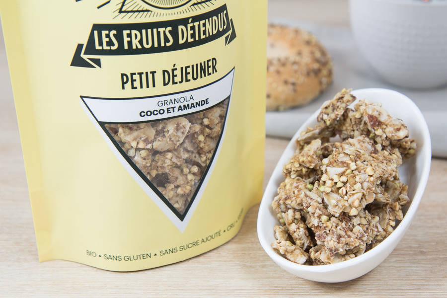 Granola Coco Amande BIO - Les Fruits Détendus - La Ruche qui dit Oui ! à la maison