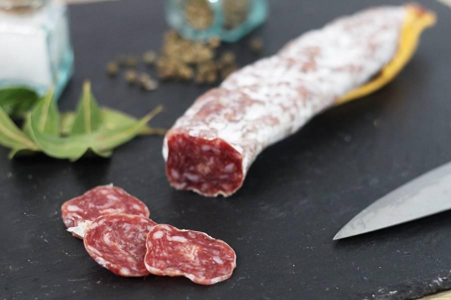 Saucisson sec Francilin - Ferme Sainte Colombe - La Ruche qui dit Oui ! à la maison