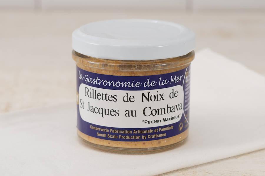 Rillettes de Noix de Saint Jacques au Combava - Conserverie artisanale Kerbriant - La Ruche qui dit Oui ! à la maison