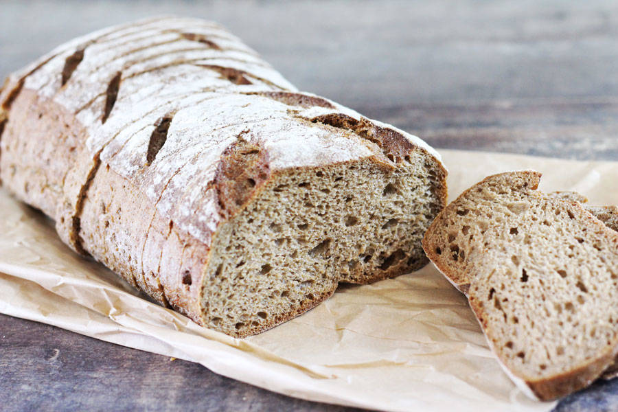 Pure sliced rye bread is a product delivered to your home