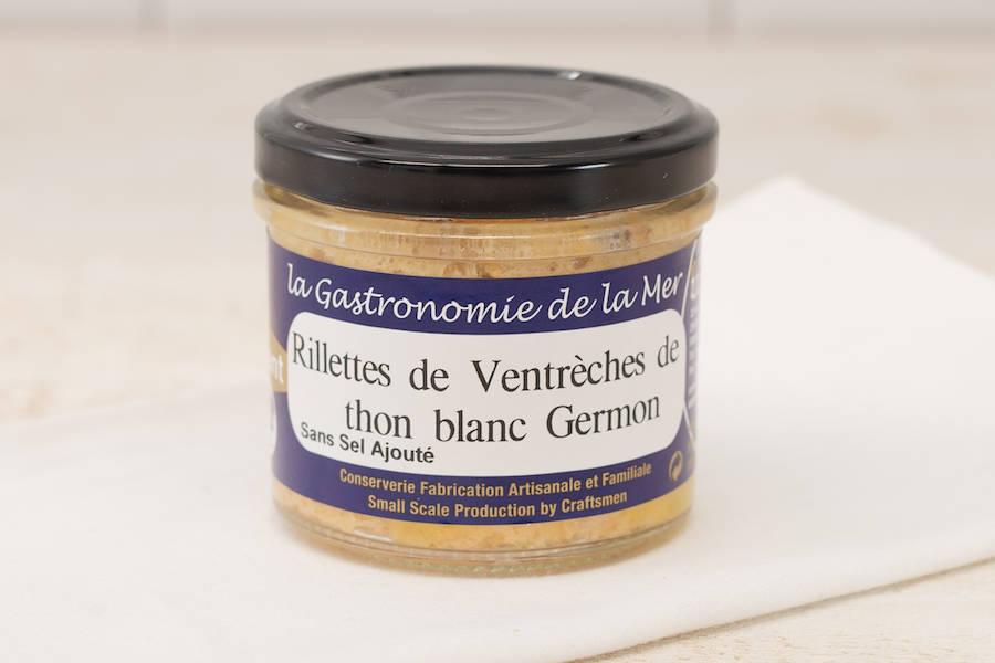 Rillettes de Ventrèches de thon blanc Germon - Conserverie artisanale Kerbriant - La Ruche qui dit Oui ! à la maison