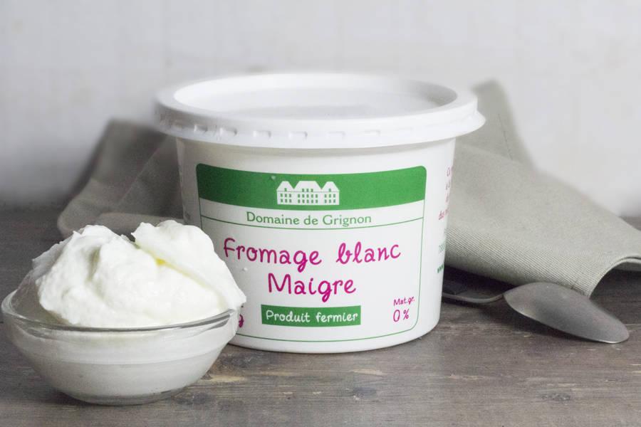 Fromage blanc Maigre 0% - Ferme de Grignon - La Ruche qui dit Oui ! à la maison