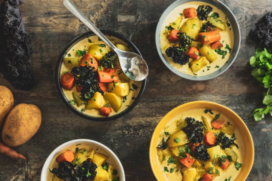 Curry veggie à la mode d'ici - La Ruche Mama - La Ruche qui dit Oui ! à la maison