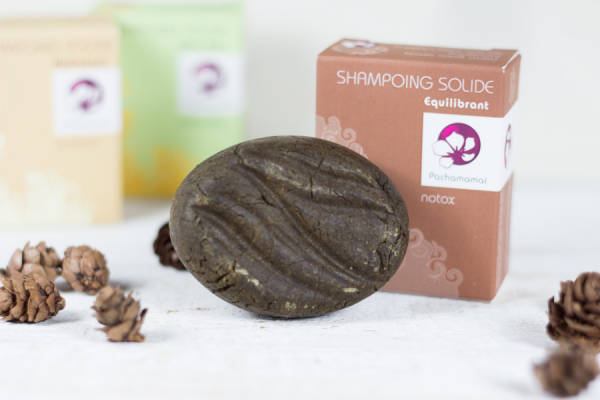 Notox - shampoing solide équilibrant - Pachamamaï - Le Comptoir Local