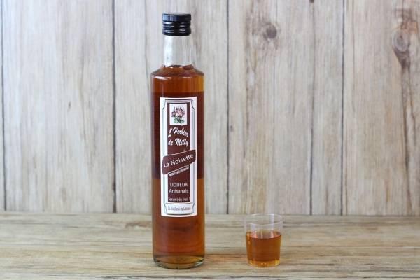 Liqueur de noisettes - L'Herbier de Milly