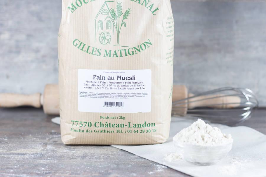 Mixe pain au muesli - Moulin artisanal Gilles Matignon - La Ruche qui dit Oui ! à la maison