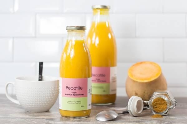 Soupe de Butternut épices douces 50cL - Conserverie de Larnière - Le Comptoir Local