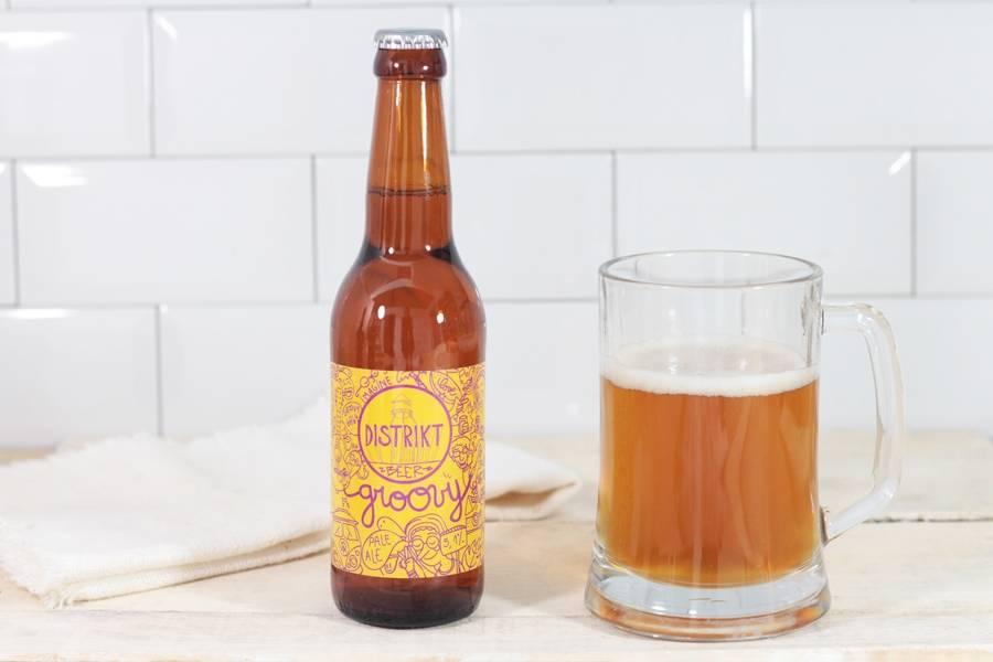 Groovy Pale Ale - Distrikt - La Ruche qui dit Oui ! à la maison