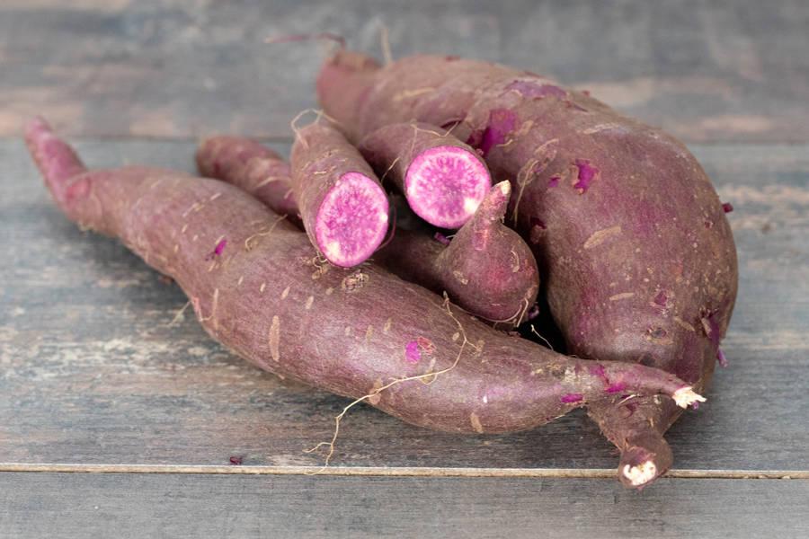 Patate douce violette BIO - Ferme Lafouasse - La Ruche qui dit Oui ! à la maison