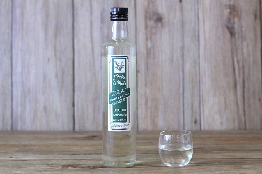 Liqueur à la menthe poivrée de Milly - L'Herbier de Milly - La Ruche qui dit Oui ! à la maison