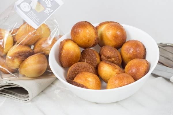 Mini cake citron - Les Desserts d'Ici