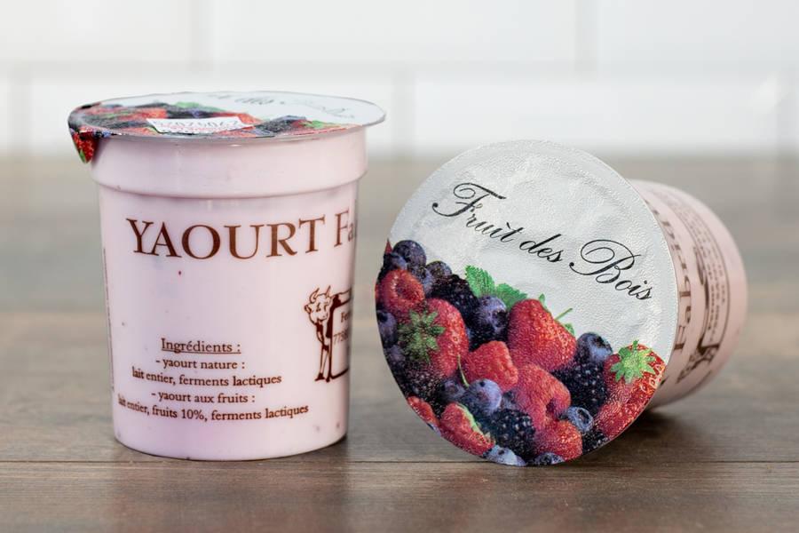 Yaourt aux fruits rouges - Ferme de Mauperthuis - La Ruche qui dit Oui ! à la maison