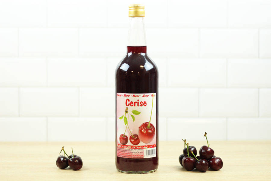 Nectar de cerise - Vergers de Molien - La Ruche qui dit Oui ! à la maison