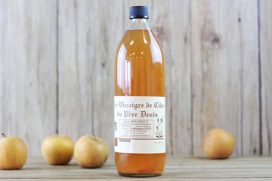 Vinaigre de cidre BIO - Le Père Denis - La Ruche qui dit Oui ! à la maison
