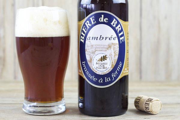 Bière de Brie Ambrée - Brasserie Rabourdin