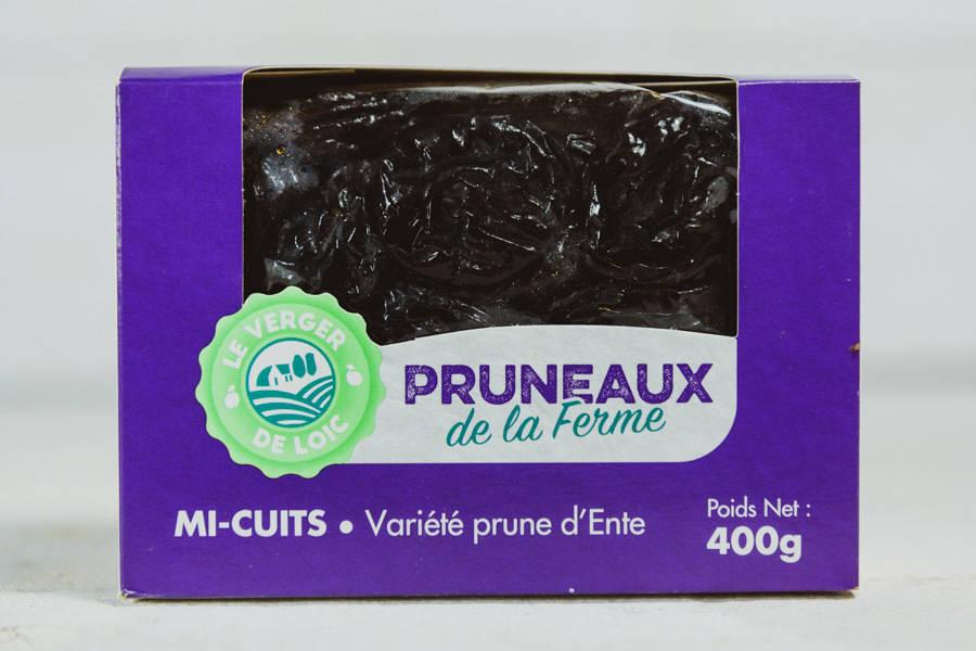 Pruneaux mi-cuits géants (400g) - Le Verger de Loïc - La Ruche qui dit Oui ! à la maison