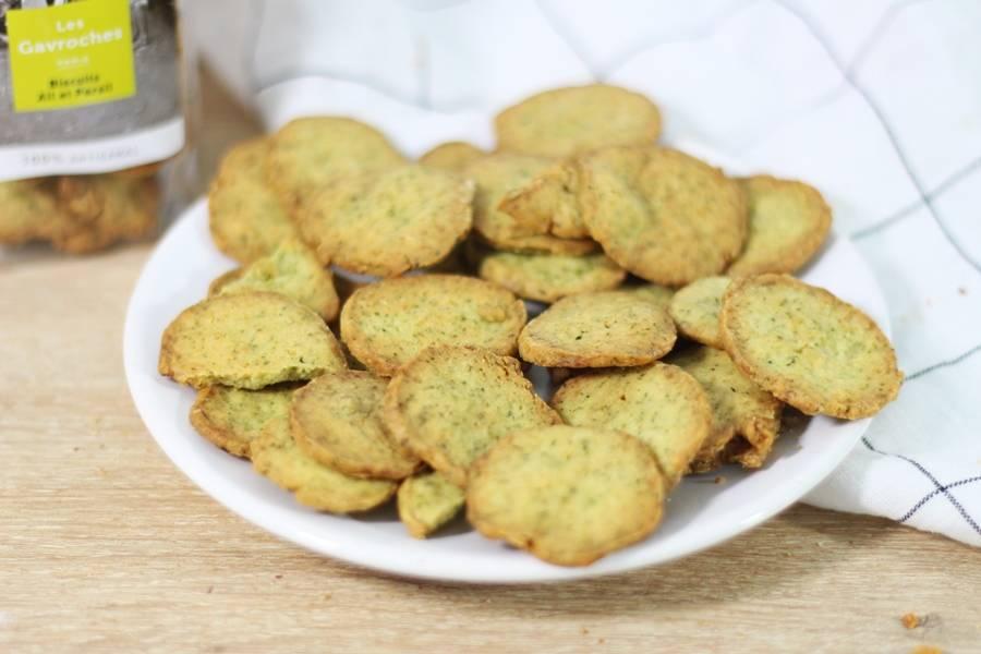 Biscuits ail & persil - Les Gavroches - La Ruche qui dit Oui ! à la maison