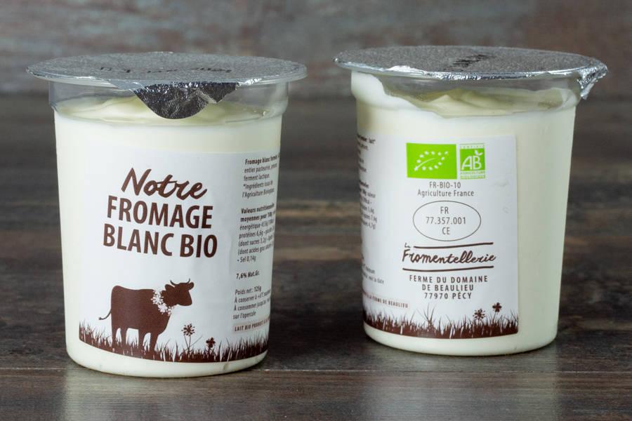 Petit pot de fromage blanc BIO - La Fromentellerie - La Ruche qui dit Oui ! à la maison