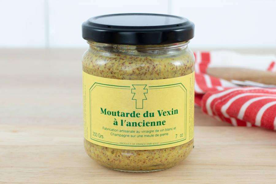 Moutarde à l'ancienne - 200g - Ferme de la Distillerie - La Ruche qui dit Oui ! à la maison