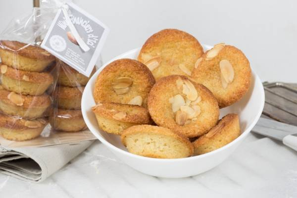 Mini financiers amandes - Les Desserts d'Ici