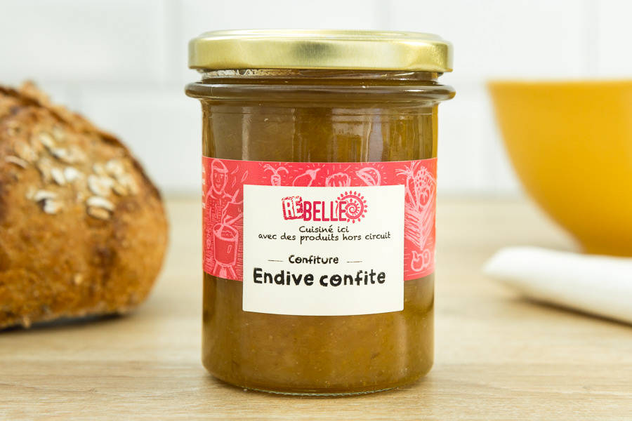 Chutney d'Endives - Re-Belle - La Ruche qui dit Oui ! à la maison