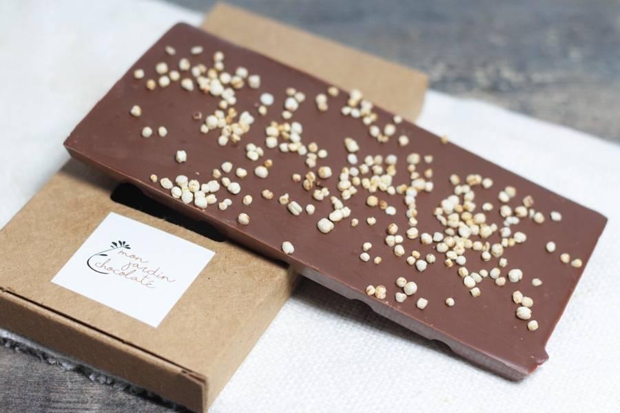Tablette aux céréales BIO - Mon Jardin Chocolaté - La Ruche qui dit Oui ! à la maison