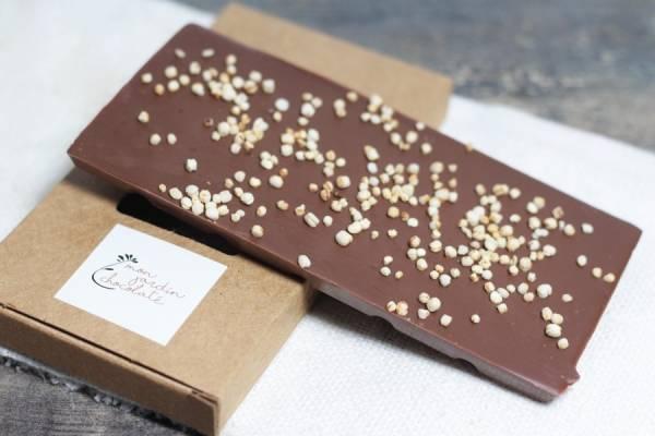 Tablette aux céréales BIO - Mon Jardin Chocolaté