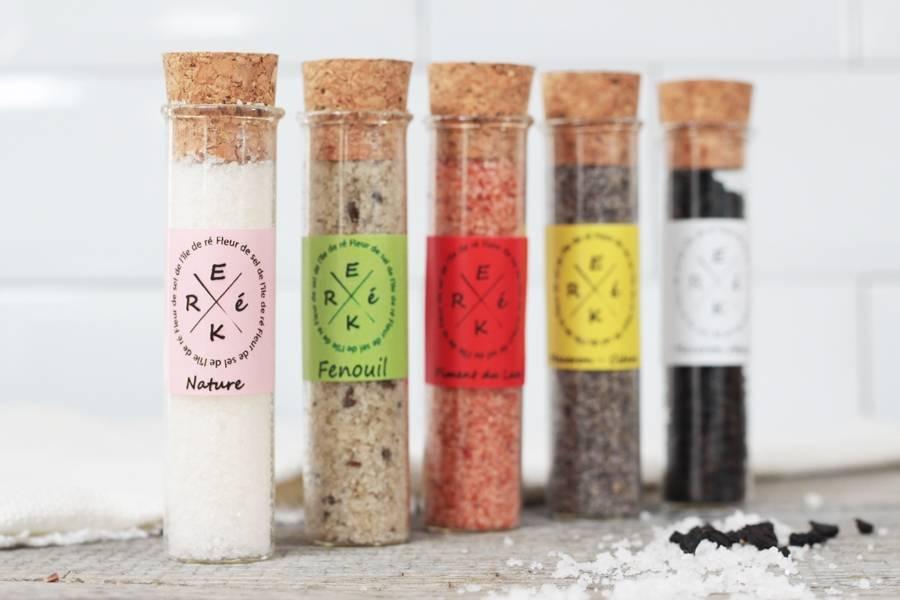 Assortiment de 5 sels aromatisés - ERéK - La Ruche qui dit Oui ! à la maison